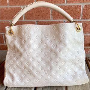 Louis Vuitton Bags - Louis Vuitton Artsy MM Neige Empreinte Hobo Bag